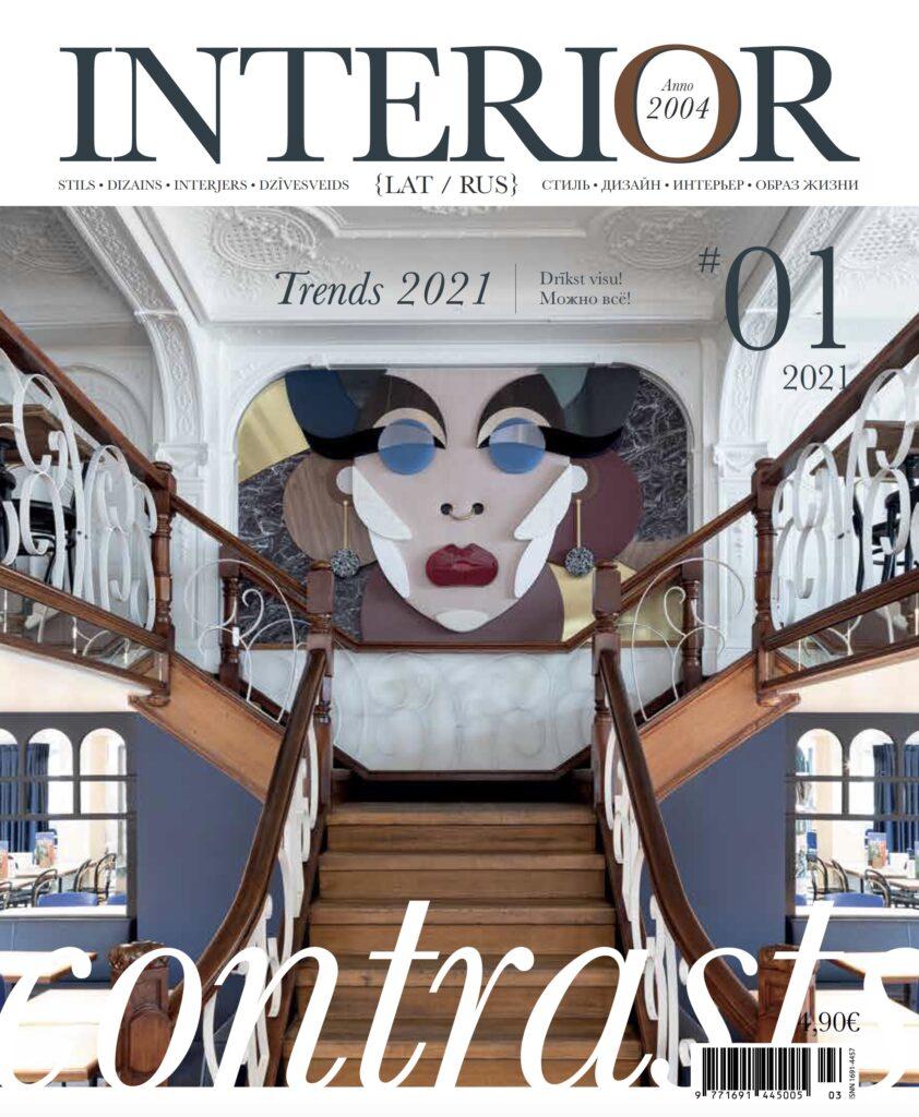 Interior magazine | Latvia | May 2021