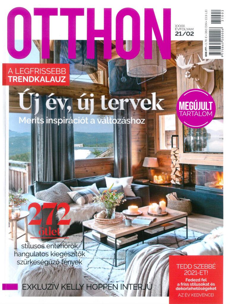 Otthon Magazine | Hungary | February 2021