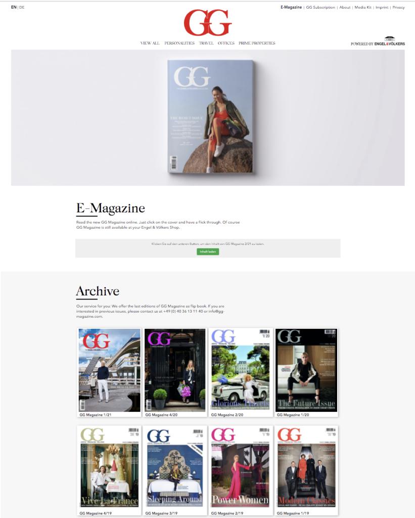G_G Magazine Online | Italy | November 2020