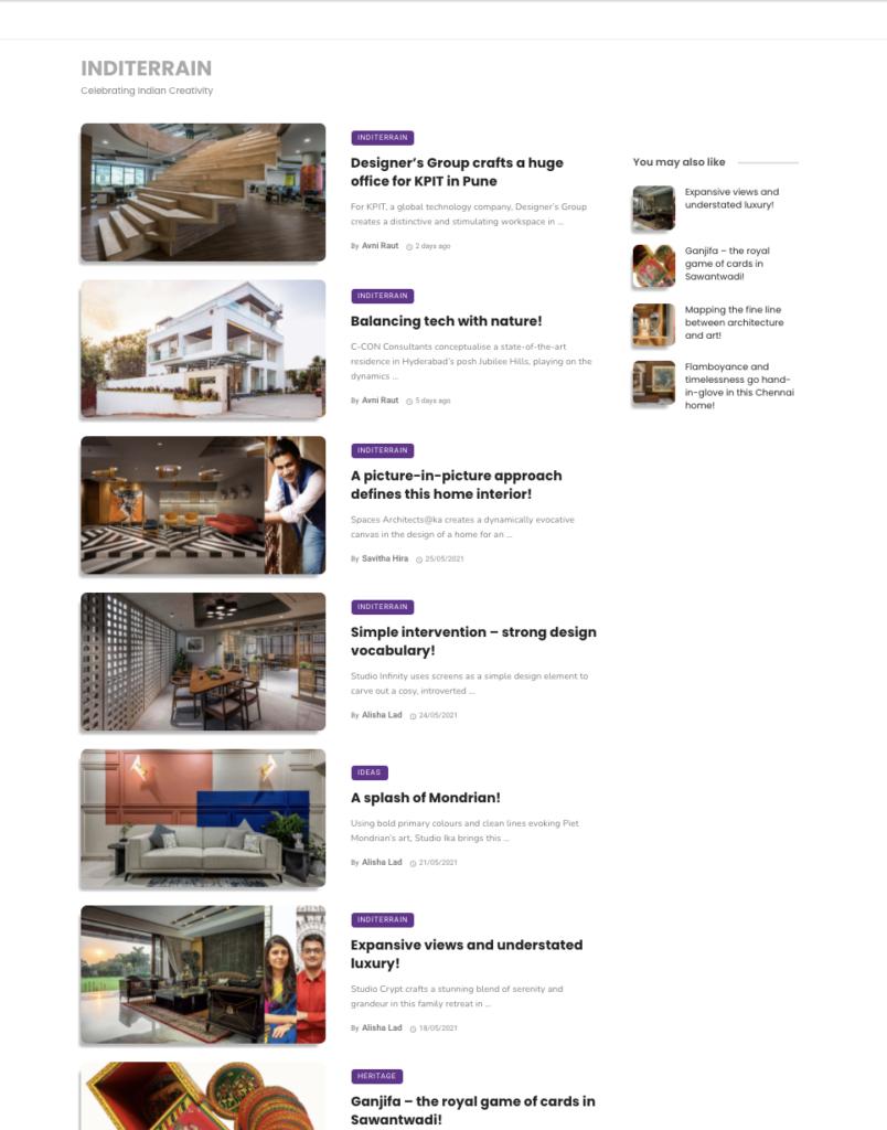 India Art Design Online | India | November 2020