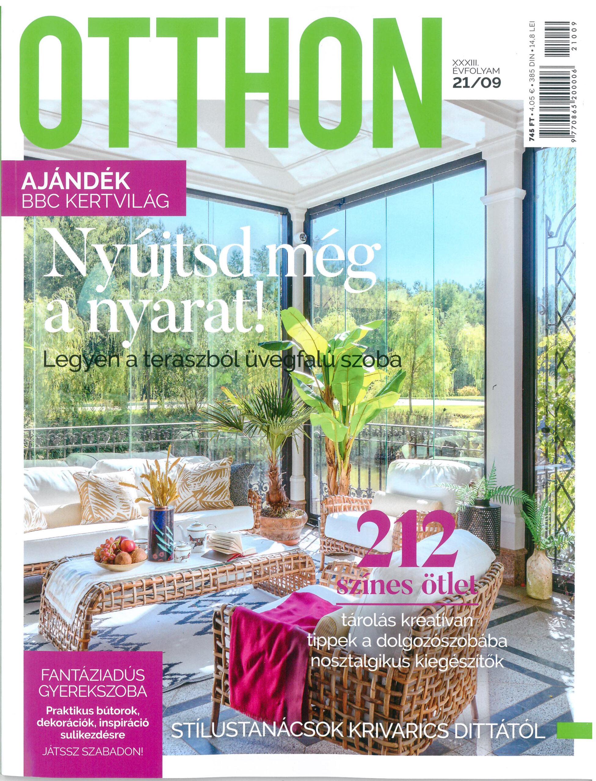 Otthon Magazine | Hungary | September 2021